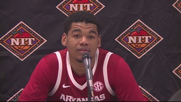 Mike Anderson recaps NIT win over Providence