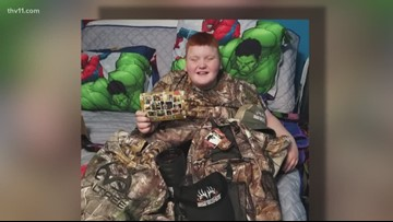 Disabled hunter gets replacement gear