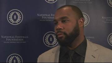 Darren McFadden inducted into College Football Hall of Fame