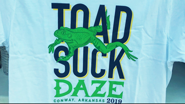 Toad Suck Daze festival announces 2019 lineup, makes $130k in contributions