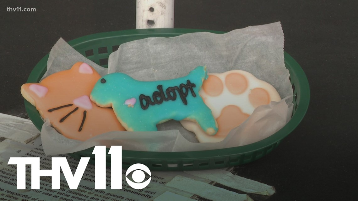 Little Rock bakery gives cookie proceeds to animal rescue organizations