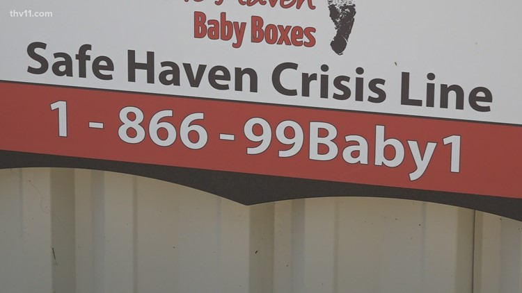 Maumelle Fire Department raising funds for Safe Haven Baby Box in the community