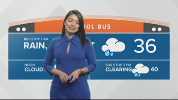 Morning weather forecast for Jan. 23