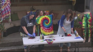 Learn how to make a tye-dye shirt this summer