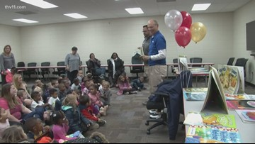 Reading Roadtrip: Adkins Pre-K in Jacksonville