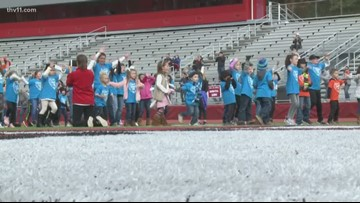 Cabot students dance for kindness