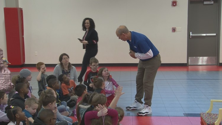 Bayou Meto Elementary students have the dinosaurs on their side
