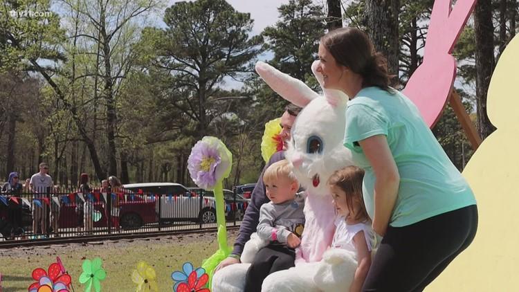 Easter Eggstravaganza at Burns Park in Little Rock