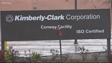 Kimberly-Clark to close Conway facility