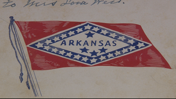 Lawmaker proposes bill to strip Confederate designation from Arkansas flag star