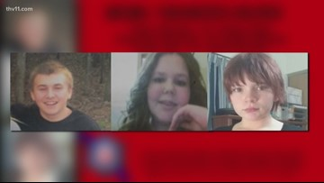 Mountain Home police searching for three missing children