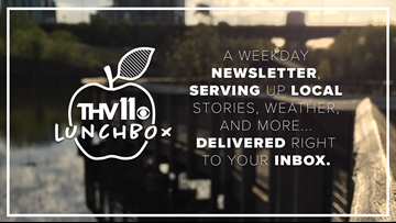 Stay up-to-date with our email newsletter, the THV11 Lunchbox