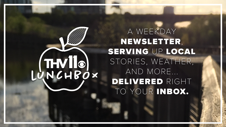 Stay updated with our email newsletter, the THV11 Lunchbox