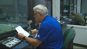 North Little Rock honors the man who has spent half a century as the voice of the Charging Wildcats