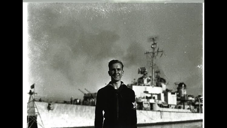 Ralph Halverson in the Navy