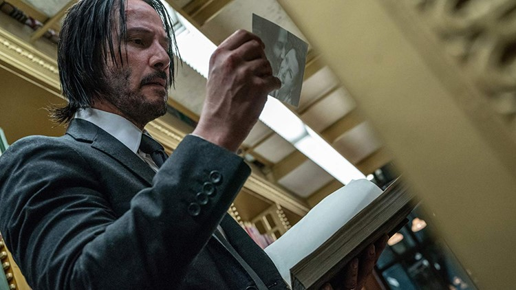 John Wick 3 is violent. That's it. That's the headline.