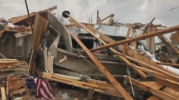 'It looked like a massive bomb had just gone off': Jonesboro community unites after strong tornado