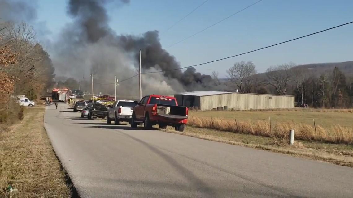 Explosion at Rob Roberts Custom Gun Works