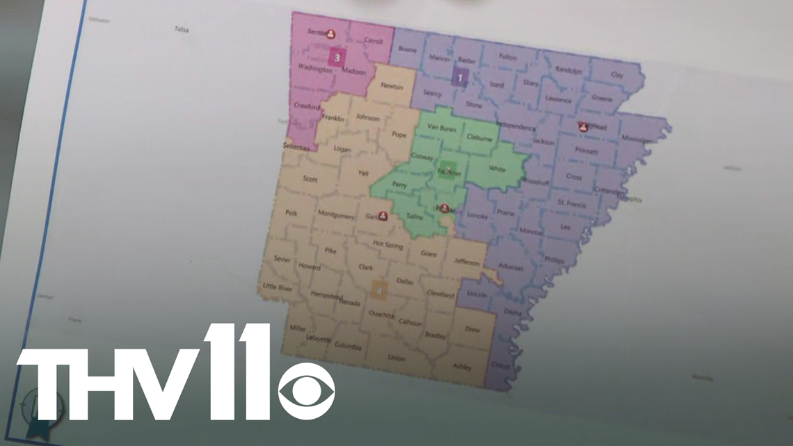 Arkansas lawmakers' Pulaski County redistricting plan raises concerns, governor says