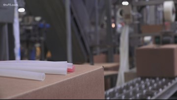 Arkansas company internationally known for making silicone straws as 'greener' alternative