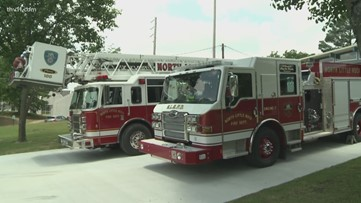 Firefighters call on Gov. Hutchinson for workers' compensation