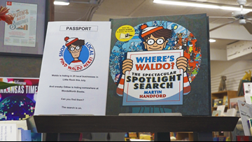 Businesses use popular children's book to encourage community members to shop local