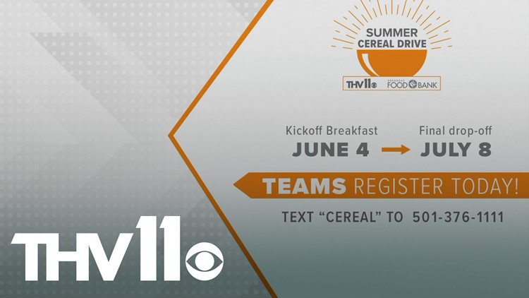 THV11 Summer Cereal Drive returns for 21st year