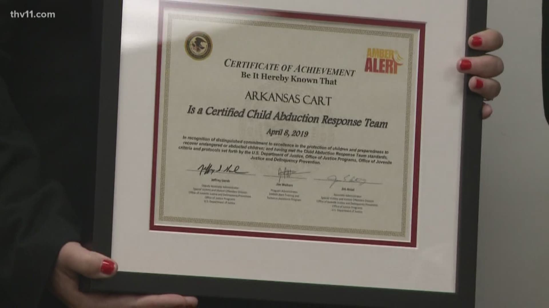 Arkansas Becomes First And Only State To Have Certified Child Abduction Teams Across State Thv11 Com