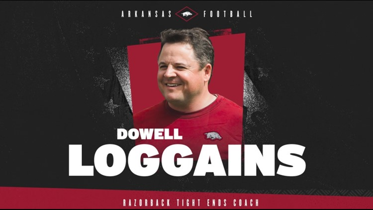 Former Razorback Loggains named Tight Ends coach, Kennedy takes over OL