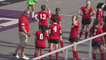 West girls outlast East in All-Star soccer game