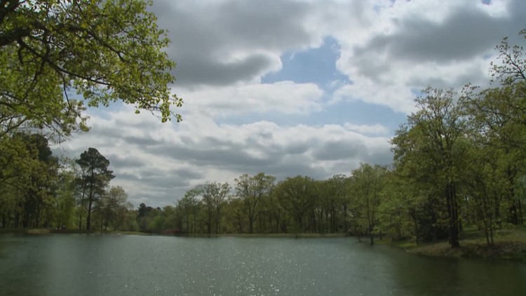 A beautiful & calm spring in Arkansas