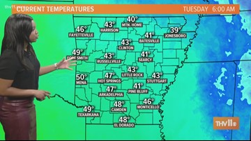 Morning weather forecast for Jan. 22