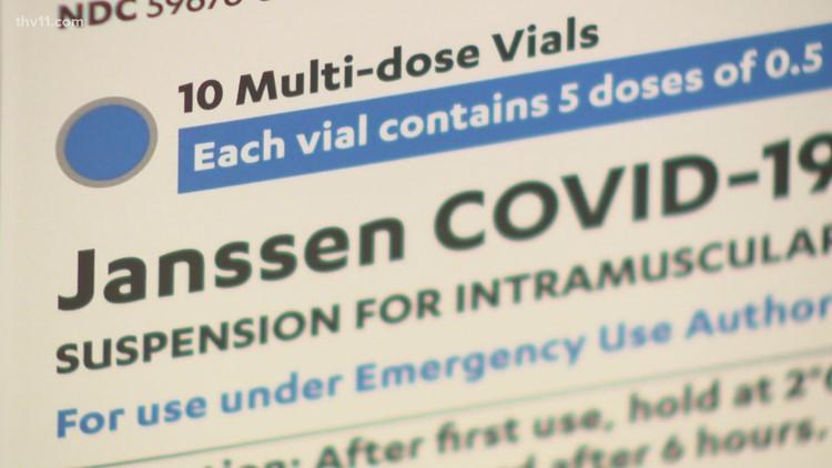 Two Arkansas pharmacies receive limited supply of Johnson & Johnson COVID-19 vaccine