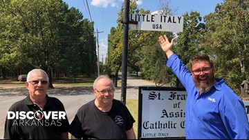 5 Italian families made the move to central Arkansas to settle in what is now called Little Italy