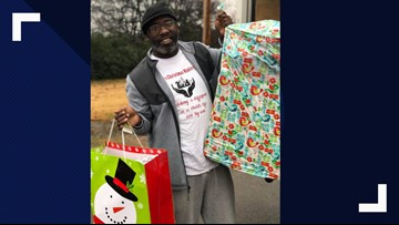 'Black Santa' already working on Christmas 2019, says he helped 235 children this year
