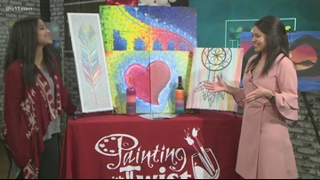 Painting party for couples, kids or co-workers