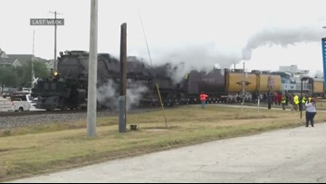 'Big Boy' Locomotive in central Arkansas