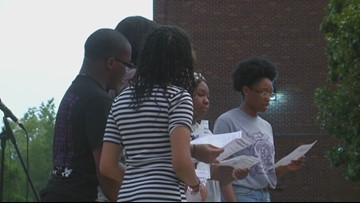 UCA hosts vigil for students from the Bahamas affected by Hurricane Dorian