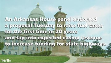 Gas tax proposal Arkansas House
