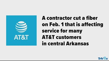 AT&T outage in Arkansas
