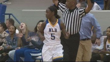 Brown's 23 points lead NLR girls past Bryant