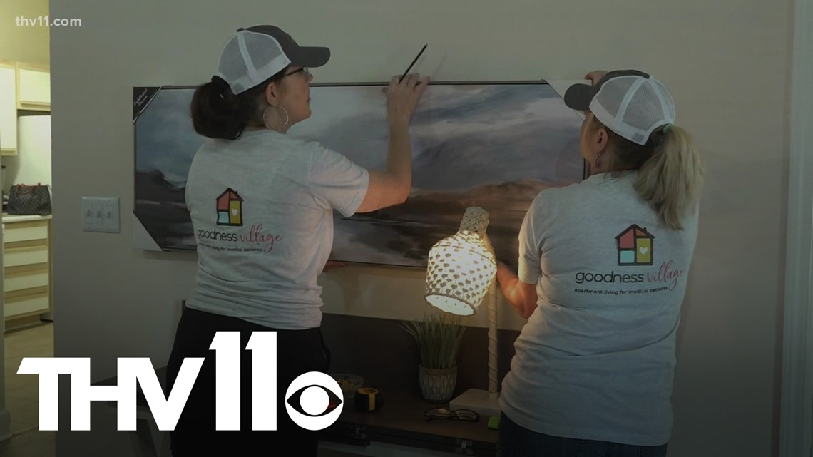 Little Rock non-profit helping out-of-town hospital patients find homes