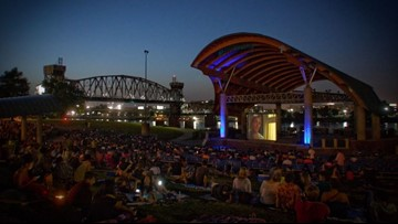 Summer lineup released for River Market's 'Movies in the Park' at First Security Amphitheater