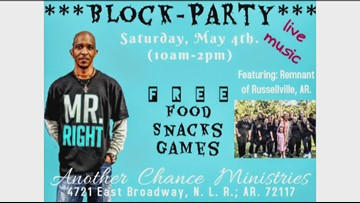 Another Chance Ministries holding block party