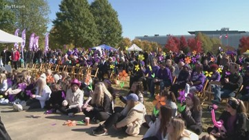 $100k raised during Walk to End Alzheimer's in Little Rock