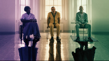 Glass offers up comic book fun held back by its meta commentary
