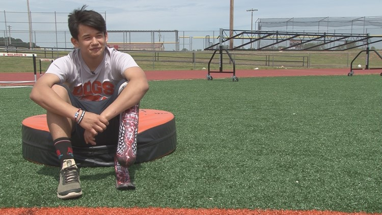 Fernando's Journey: The 14-year-old Waldron track star running past adversity