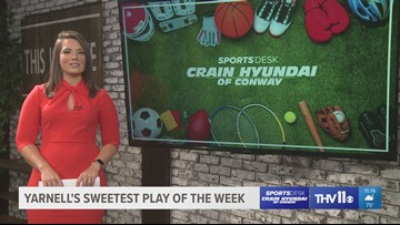 Vote for Yarnell's Sweetest Play of the Week for week four!