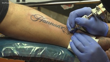 Despite popular bad luck belief, couples get inked with love on Valentine's Day
