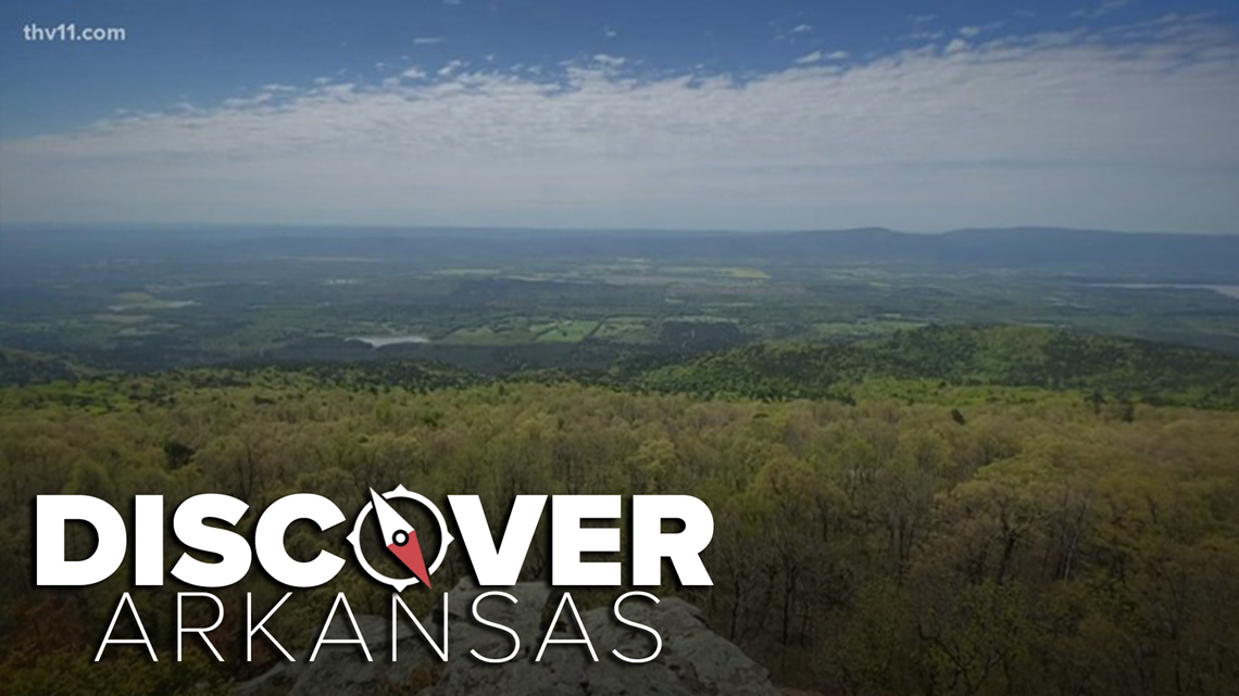 Visit Arkansas's highest point at Mount Magazine State Park